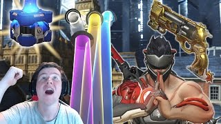 [Overwatch] Unboxing 101 Uprising Lootboxes + Giveaway!