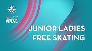 Ladies Free Skating | ISU Junior Grand Prix Final | Torino 2019 | #JGPFigure