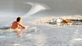 How to Stay Warm in Freezing Water