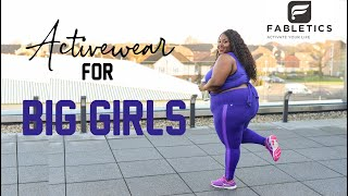 ATHLETIC WEAR FOR BIG GIRLS! TRYING ON DIFFERENT LEGGINGS FROM FABLETICS!