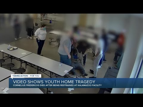 Video released of altercation that led to death of Cornelius Fredericks at Kalamazoo youth home