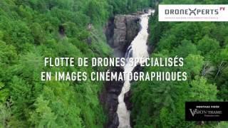 Tournage vidéo en drone