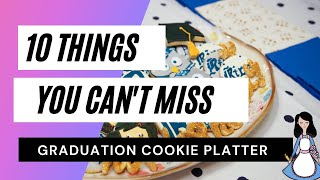 #StayHome How To Make A Graduation Cookie Platter
