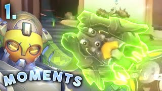VERY WEIRD ORISA BUG | Overwatch Daily Moments Ep. 1 (Funny and Random Moments)