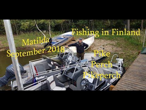 Рыбалка в Финляндии, Матильда 20.09-23.09.18    Приманки Z-MAN PADDLERZ в действии