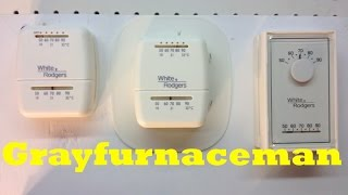 Mechanical wall thermostat lag and overshoot and the anticipator part 1