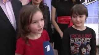 Арина Данилова -  Интервью после СП - Голос.Дети - Сезон1