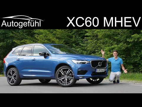 Volvo XC60 B5 FULL REVIEW new MHEV 2020 Mild-Hybrid - Autogefühl