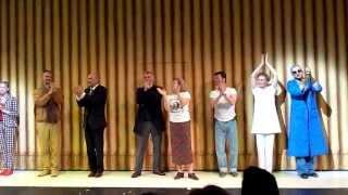 Nemzeti Színház - Angyalok Amerikában - utolsó előadás, tapsrend (2013.06.12.)