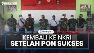 Setelah Lihat PON Sukses di Papua, KKB Yapen Putuskan Gabung NKRI