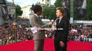 Том Фелтон, Tom Felton's interview at the Premiere of Harry Potter and The Deadly Hallows part 2
