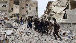 Friedensgespräche in Genf, Bomben in Syrien