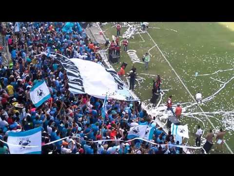 """""""Recibimiento Jaiba Brava Final de segunda división 2016"""" Barra: La Terrorizer • Club: Tampico Madero"""