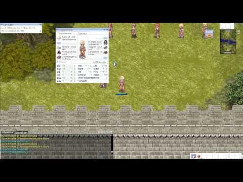 Ragnarok Online Создание персонажа и стартовая локация