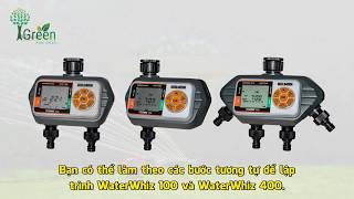 Hướng dẫn sử dụng bộ hẹn giờ tự động WaterWhiz™ 100, 200 và 400 Holman – Úc