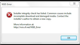 How to fix NSIS Errors! [German] [Windows 8]