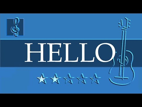 Acoustic Guitar Duet - OMFG - Hello (Sheet music - Guitar chords)