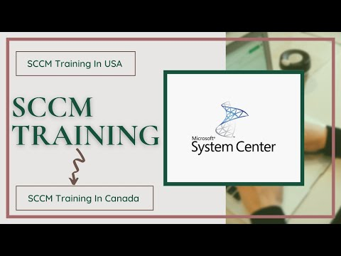 SCCM Online Training Classes in USA ,CANADA - YouTube