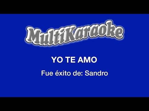 Yo te amo Sandro