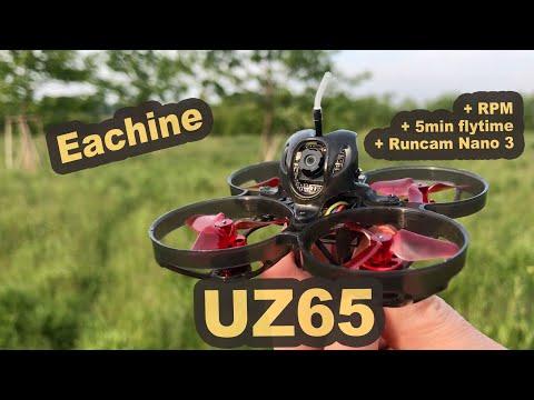 Eachine UZ65 Tinywhoop 5:20 Min Flug