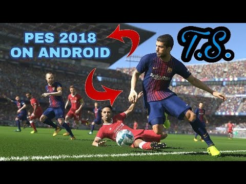 PES 2018 GAME ON ANDROID   IN PPSSPP    HIGHLY COMPRESSED 450 MB  