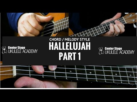 How To Play Hallelujah - Chord Melody Style - Part 1