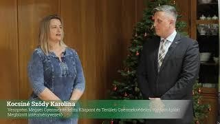 Veszprém Megyei Gyermekvédelmi Központ és Területi Gyermekvédelmi Szakszolgálat adomány