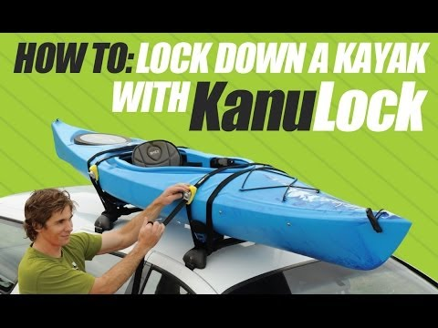 How To Lock a Kayak to Roof racks