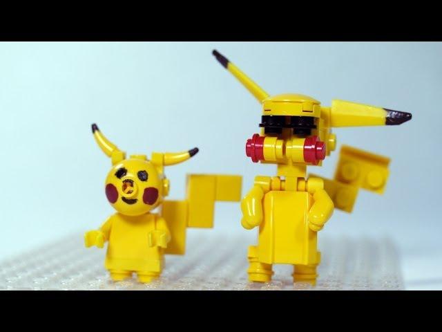 Lego Pikachu Instrukcja How To Build Lego Pikachu Lego Pokemon Mp3