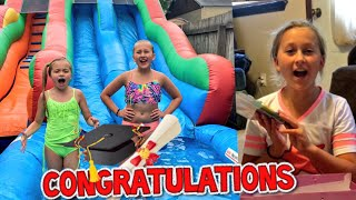 BEST GRADUATION PARTY EVER! GIRLS HAD SUCH AN AMAZING DAY!