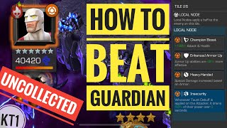 How To Easily Defeat GUARDIAN In Missing Links Uncollected! Marvel Contest Of Champions!