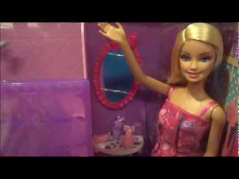 Barbie Glam Shower Playset