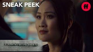 Shadowhunters | Season 2, Episode 15 Sneak Peek: Aline Surprises Sebastian | Freeform