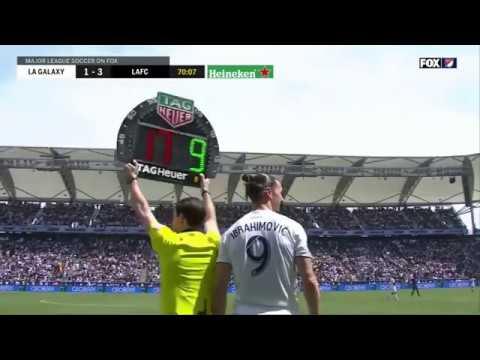 Debut Ibrahimovic di LA Galaxy: Gol Indah dan Penentu Kemenangan
