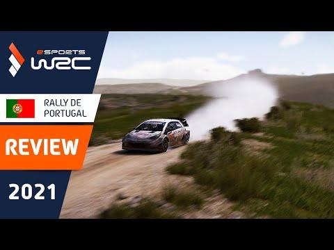 E-sports WRC2021 ポルトガル レビュー動画