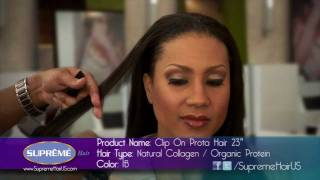 How to Spiral Curl Your Extenstions with a Flat Iron | Supreme Hair