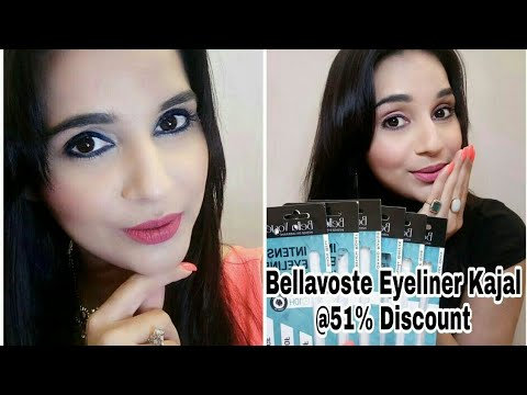 Bellavoste Eyeliner Kajal Review   51% Discount   6 Shades   Swatches   Giveaway Open