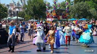 [4K] Disneyland Birthday Parade with 63 Disney Characters!