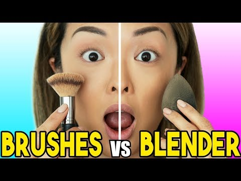 mp4 Beauty Blender Vs Brushes, download Beauty Blender Vs Brushes video klip Beauty Blender Vs Brushes