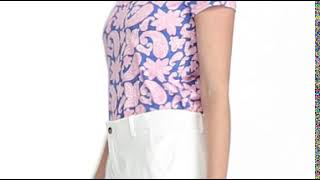 Tailored Fit Golf Polo Shirt-video