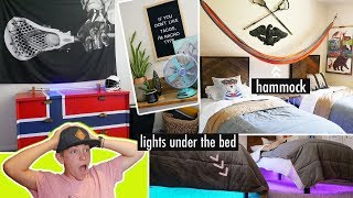 I Decorate My Brothers Room!🤫Surprise Boys Room Makeover