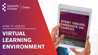 University of Essex Online Virtual Learning Environment