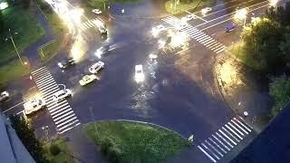 Двойная авария за 5 минут: во всем виноват дождь?