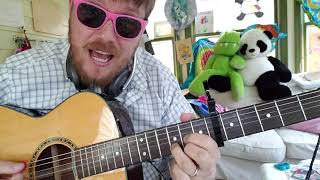 Gerard Way   Baby You're A Haunted House  Easy Guitar Tutorial For Beginner