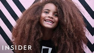 7-Year-Old Boy's Hair Is Changing The Modeling Industry