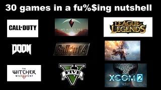 30 games described in 1 sentence