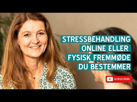 Stressbehandling – Ja, stressbehandling kan sagtens foregå online