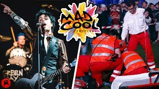 Green Day Criticised For Playing Show After Acrobat Falls To Death