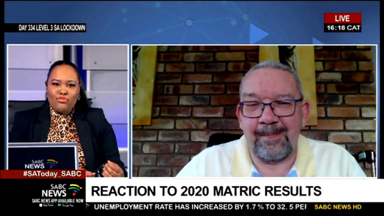 Matric Results 2020 | Naptosa reacts to results: Basil Manuel