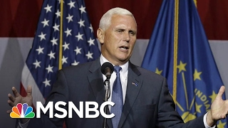 The Most Dangerous Man In President Trump's World Is VP Mike Pence | The Last Word | MSNBC - Video Youtube